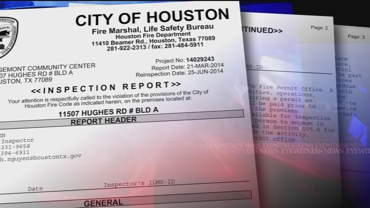 Houston fire inspectors claim: Dont cite city buildings