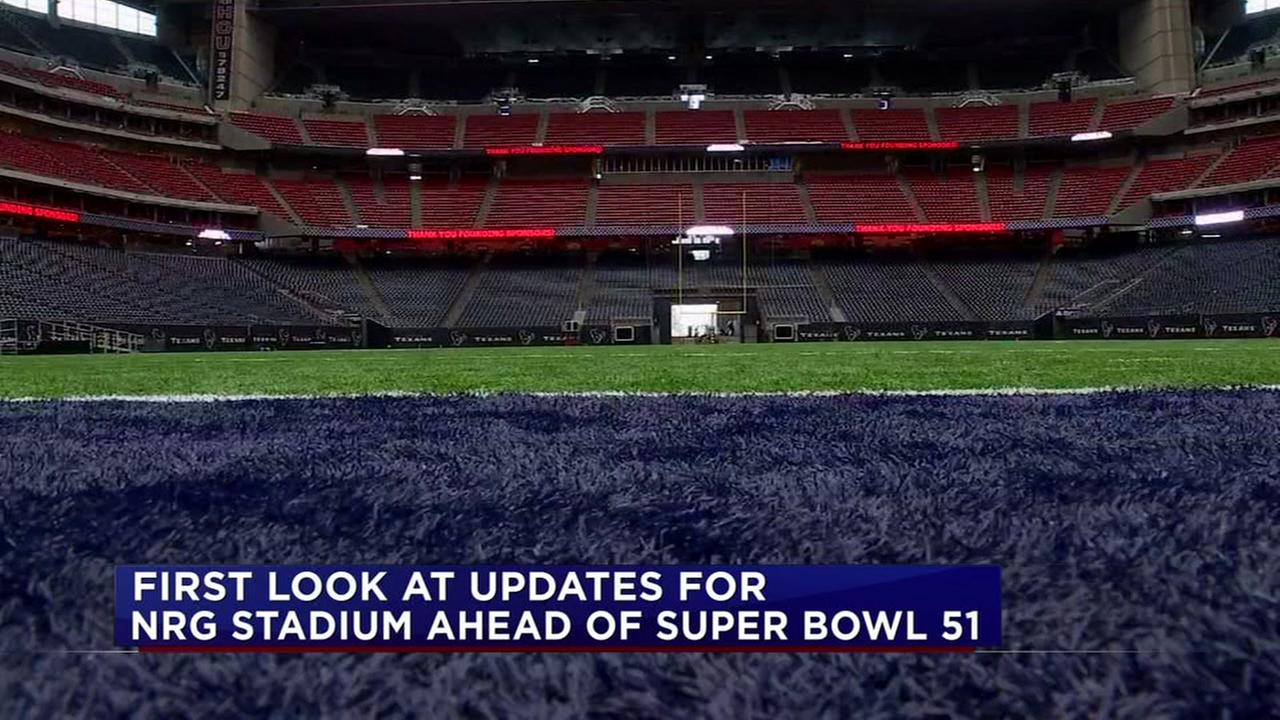 First look at updates for NRG ahead of Super Bowl