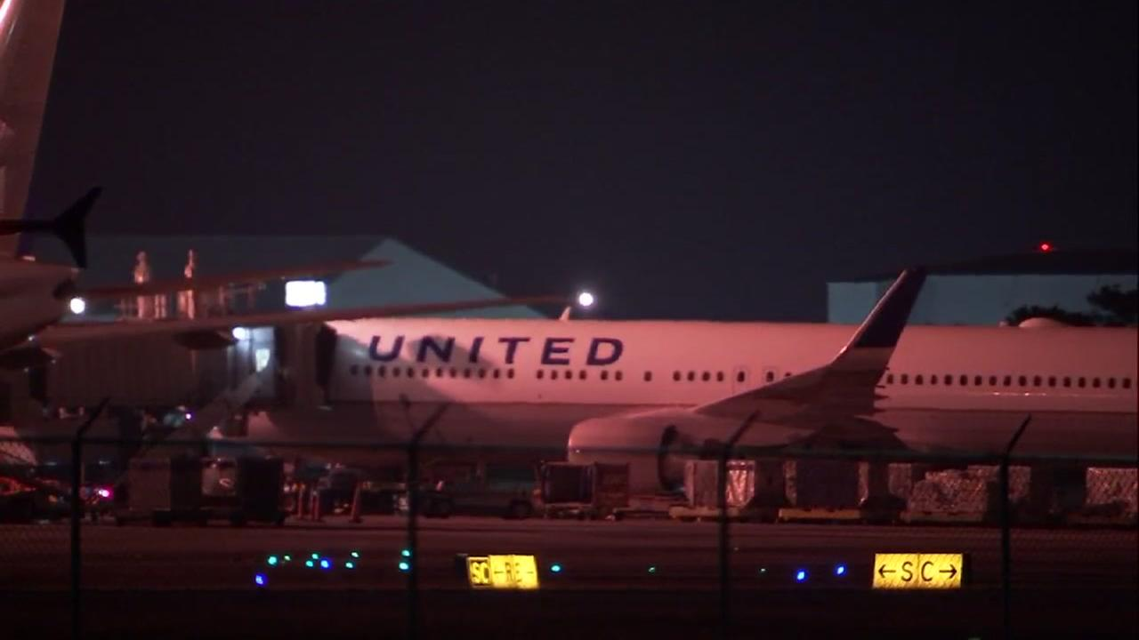 United flight makes emergency landing after noises heard in cargo area