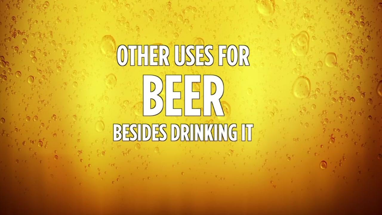 Other uses for beer besides drinking it