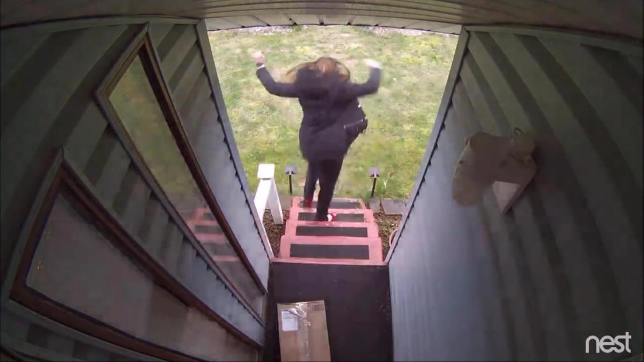 Homeowners exact revenge on porch pirates