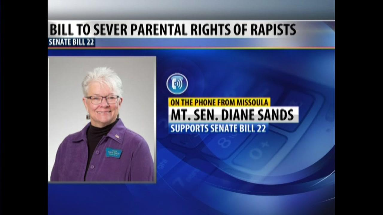 Proposed bill would sever parental rights of rapists