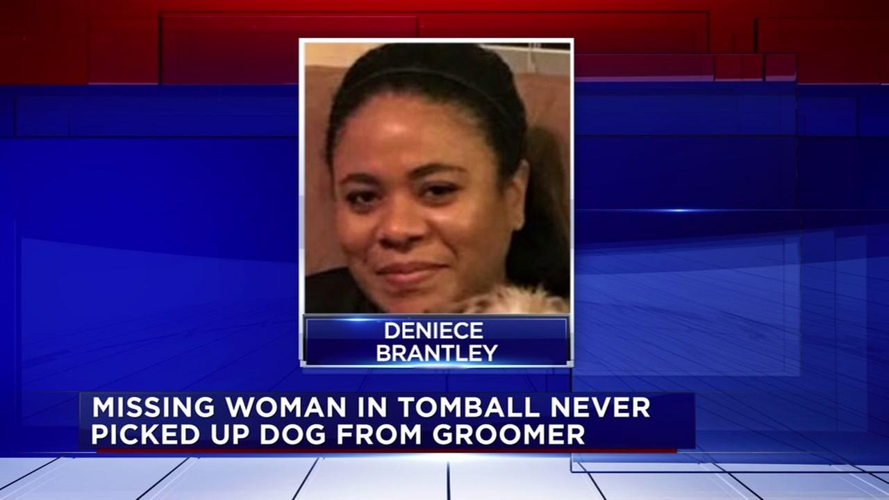 Woman vanishes after dropping off dog at groomer in Tomball area