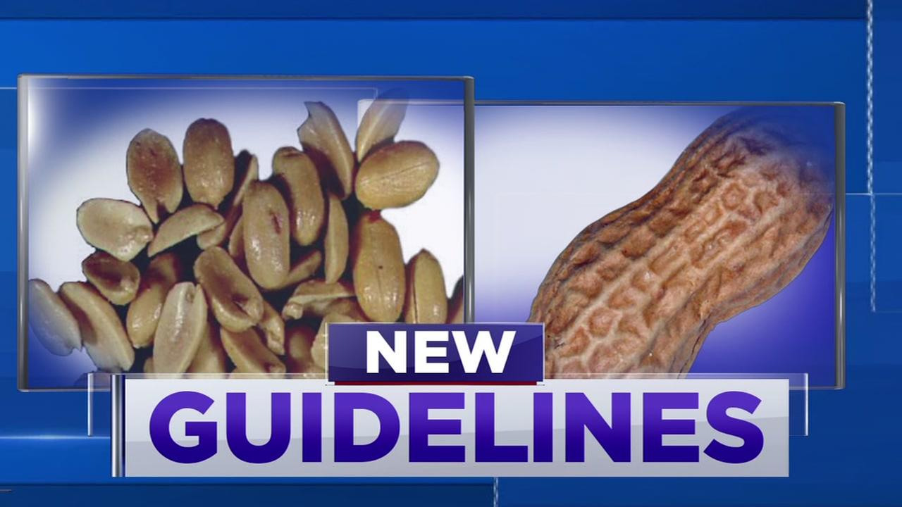 New guidelines on when to introduce peanuts to children
