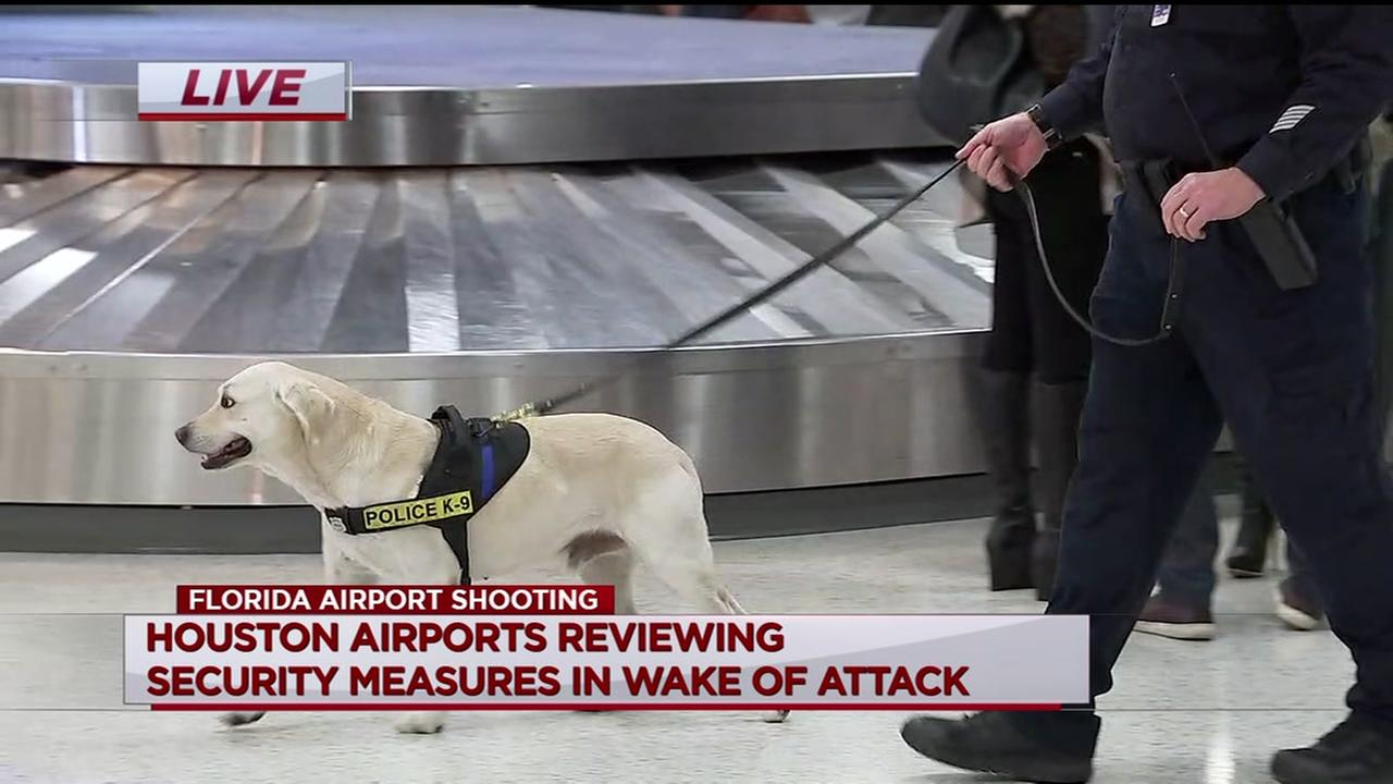Houston airports reviewing security measures