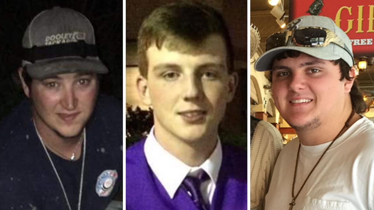 Authorities have recovered the bodies of Starett Burke, Christian Ruckman and Spencer Hall after they went missing on a duck hunt near Matagorda Bay.