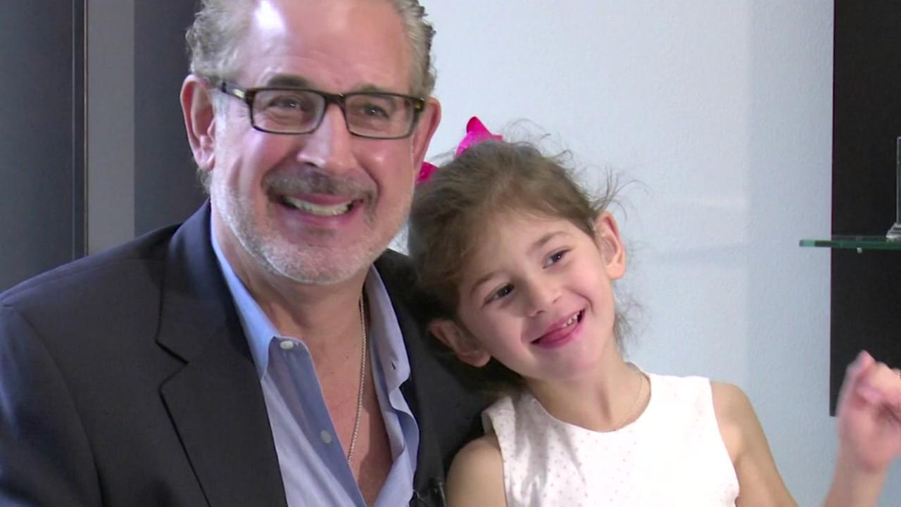 Father and daughter get matching hearing aids