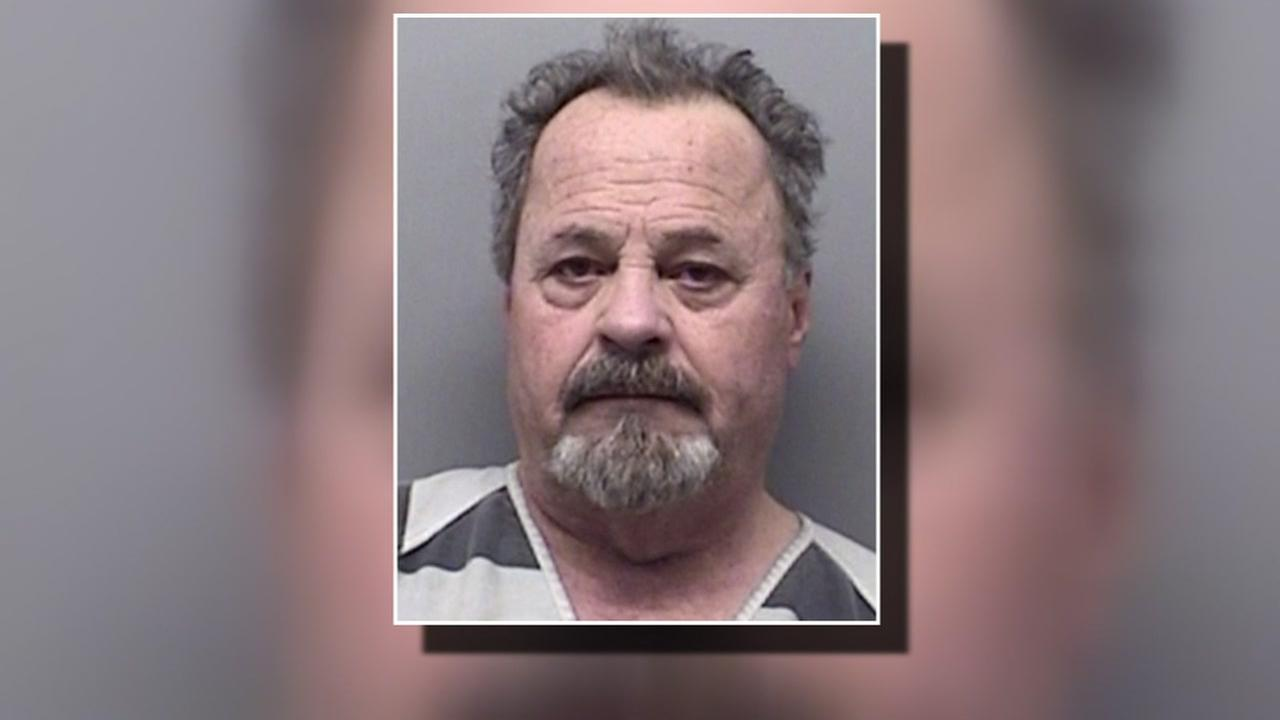 Grandpa arrested for carrying marijuana from California to Texas.