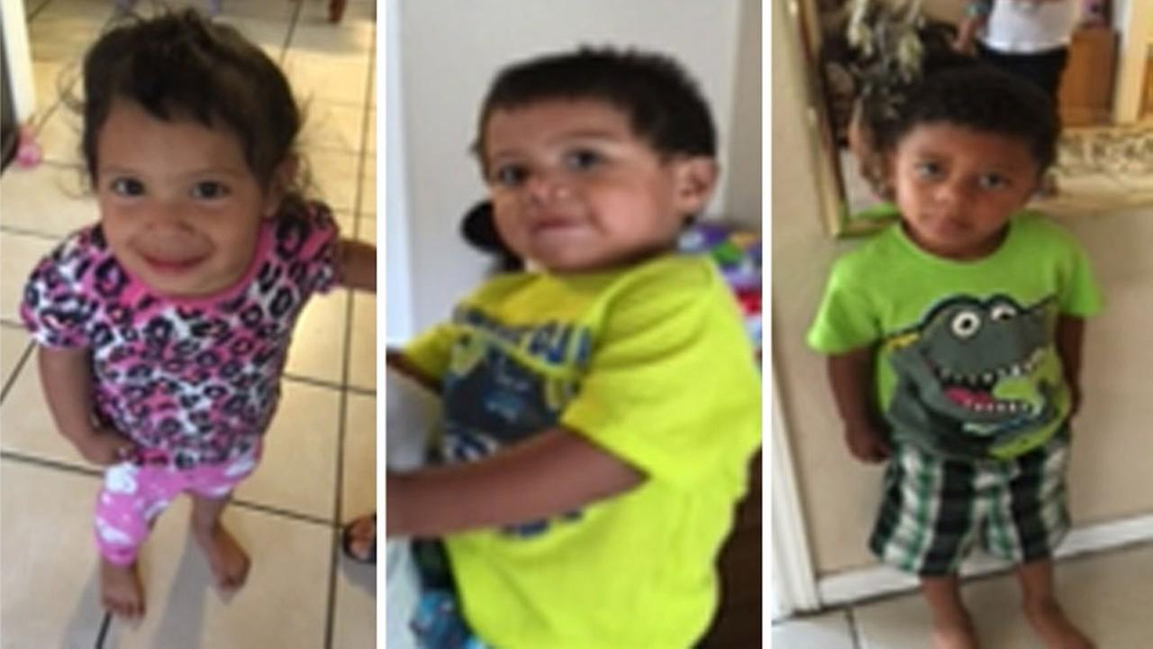 Amber Alert issued for 3 kids