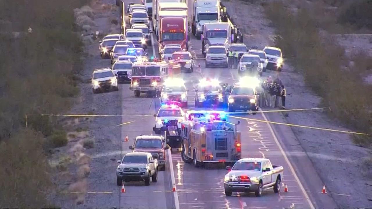 Arizona state trooper shot on highway