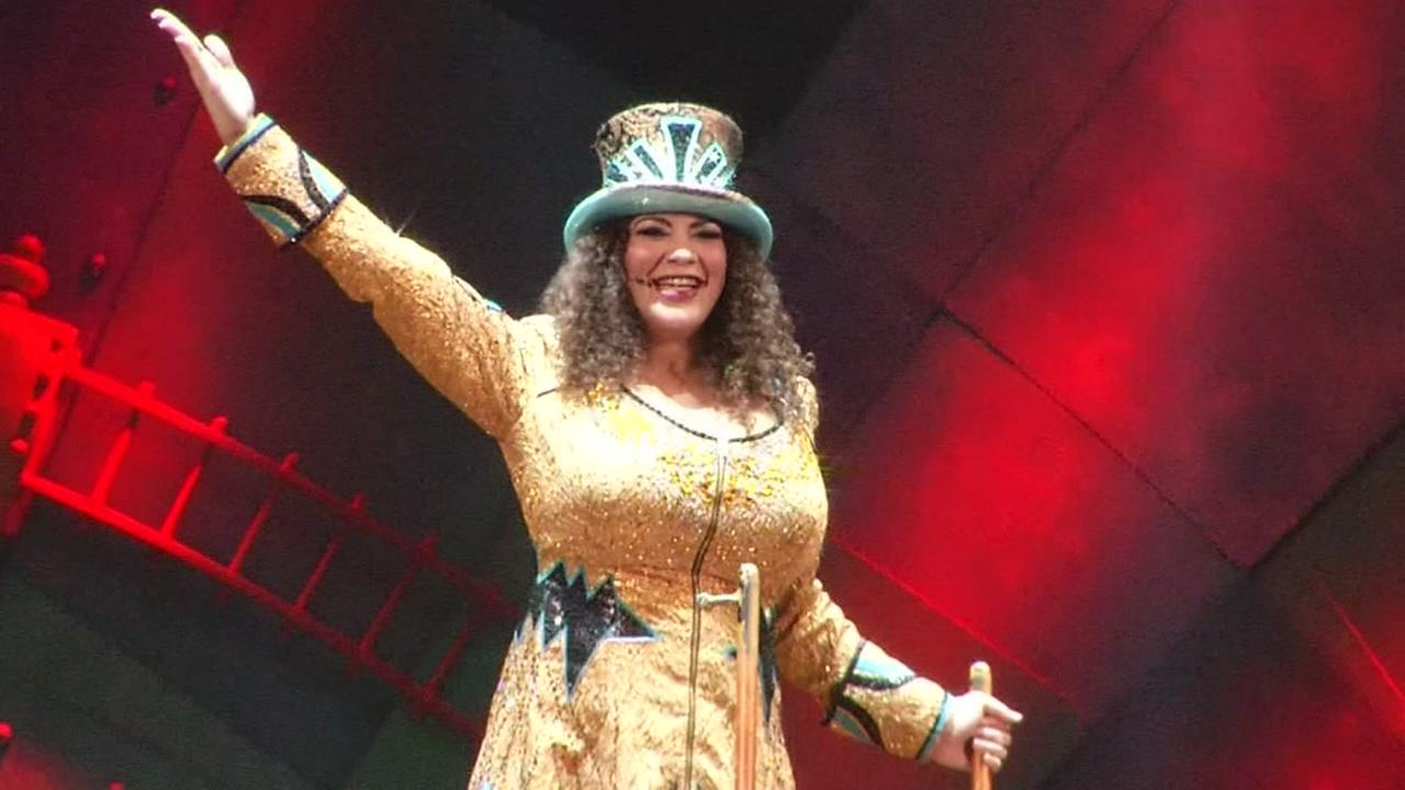 First female ringmaster takes reigns at Ringling Bros. circus