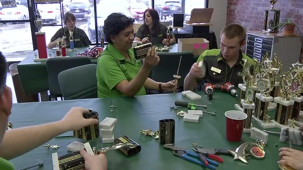 Local business employs young people with disabilities