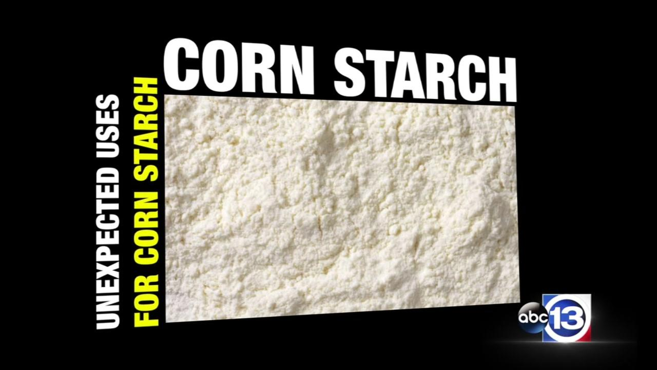 Unexpected uses for corn starch