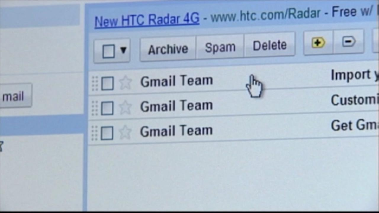 Hacking scam targeting Gmail users