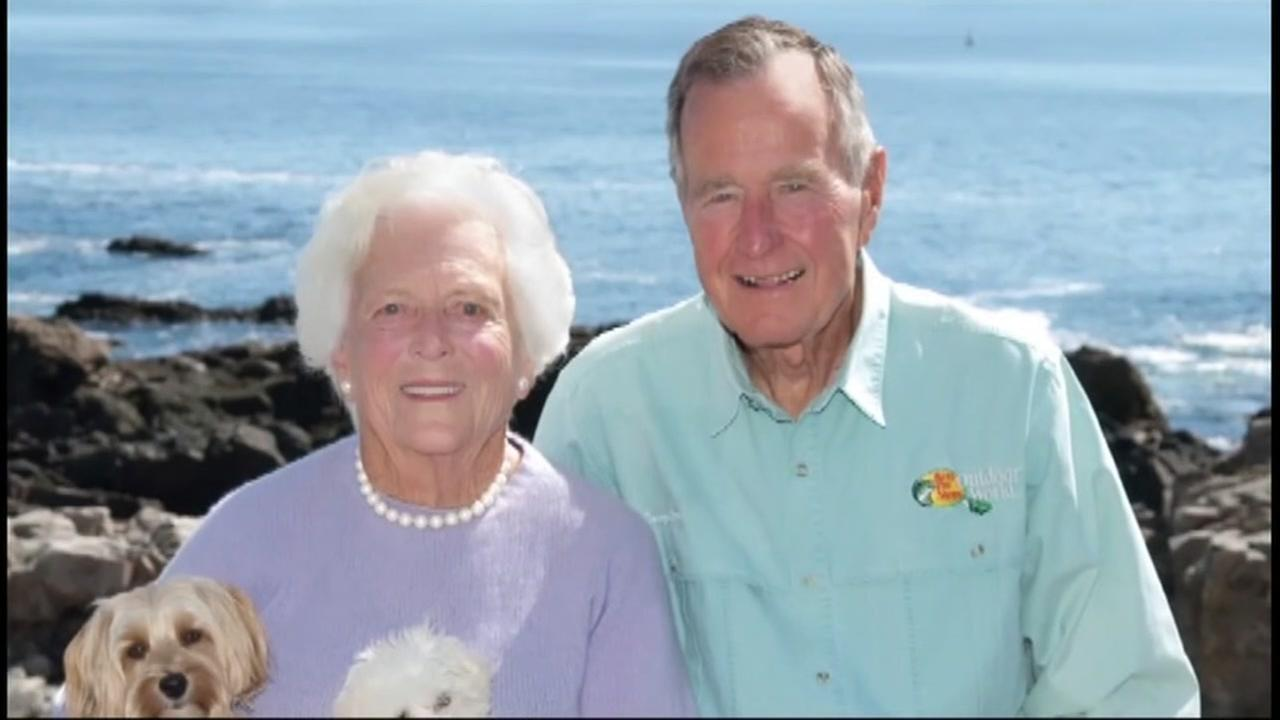 George H.W. and Barbara Bush hospitalized in Houston