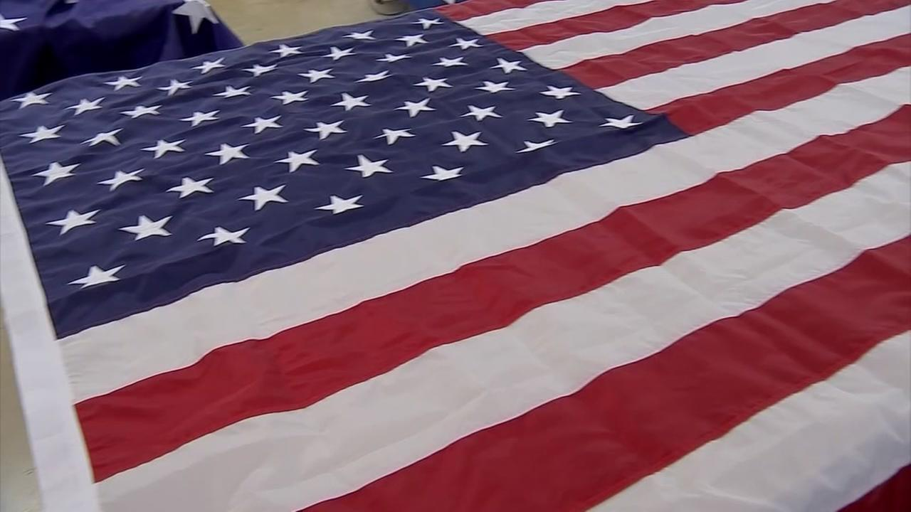 Flags made in Texas to fly over Trump inauguration