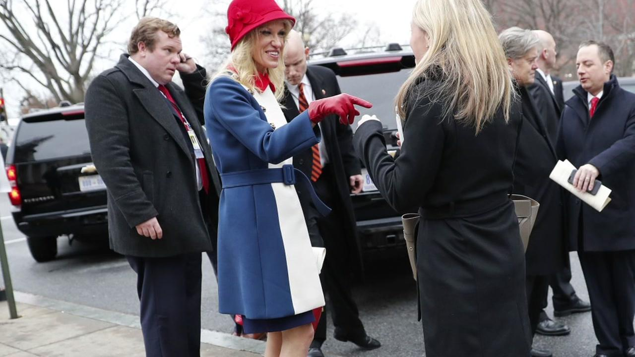Kellyanne Conway the talk of Inauguration Day fashion