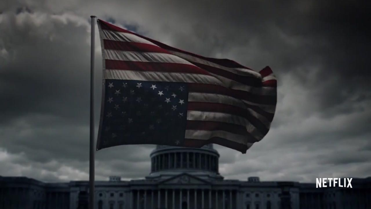 Fictional presidency in House of Cards releases ominous trailer