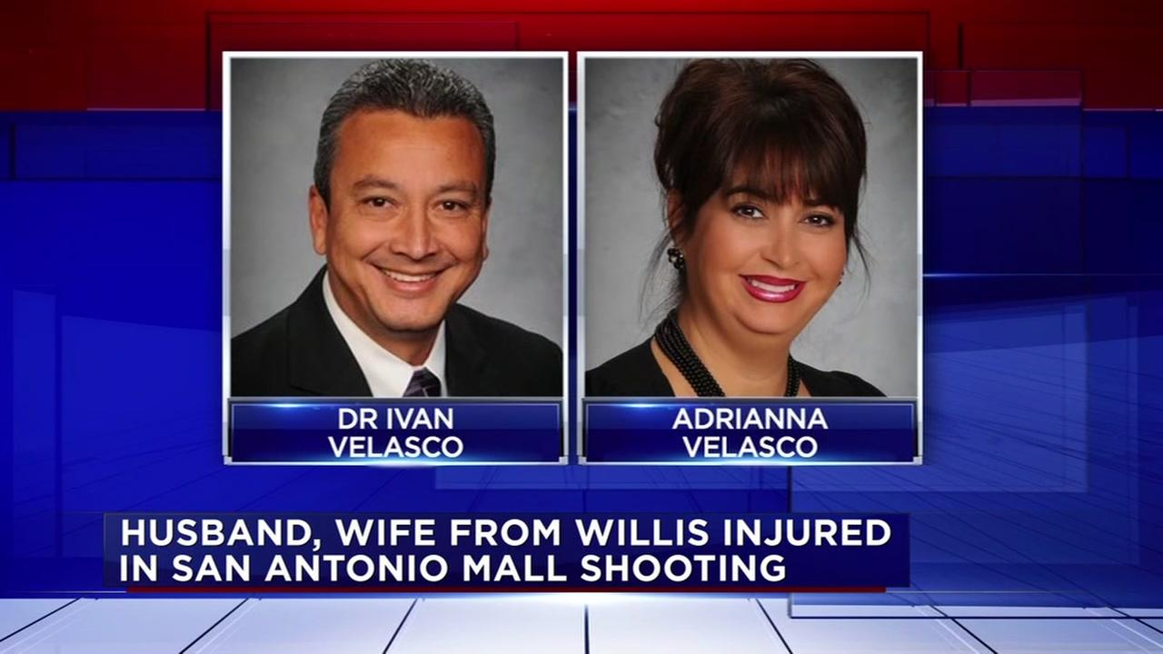 Couple from Willis injured in San Antonio mall shooting