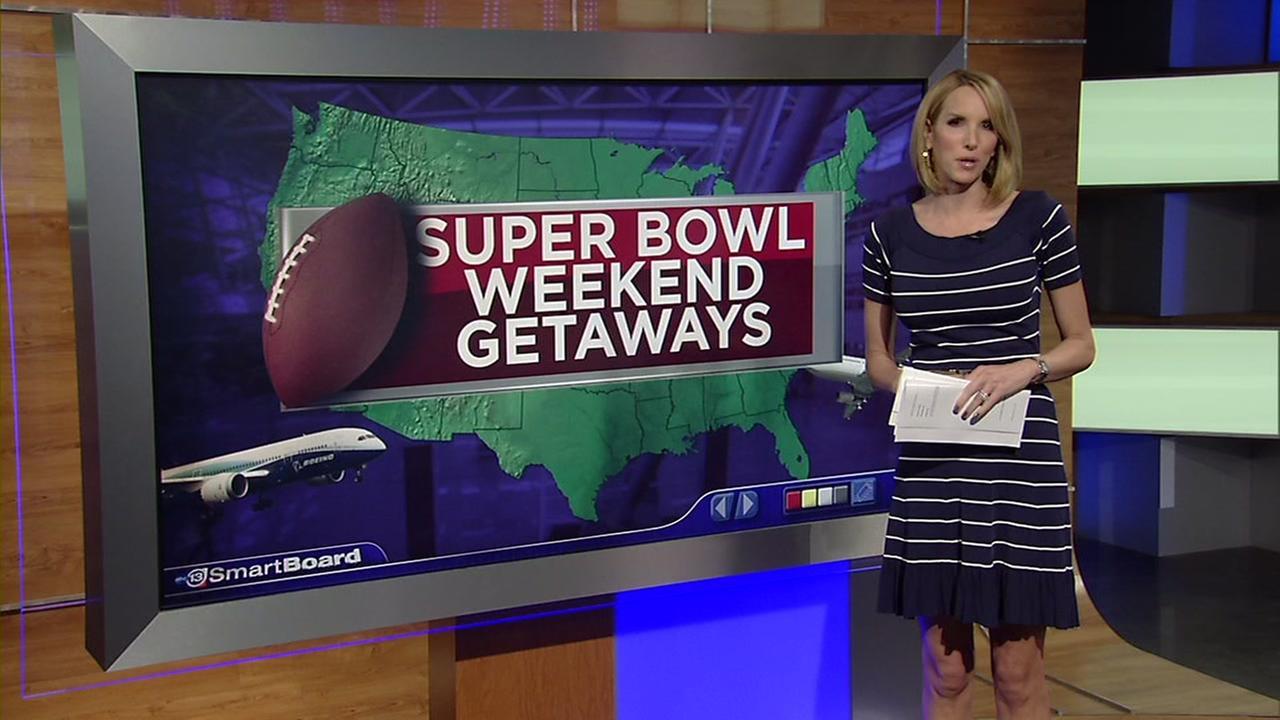 Cheap flights from Houston during the Super Bowl