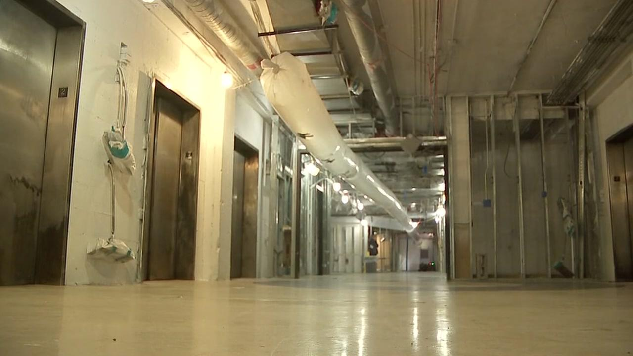 First look inside John Sealy Hospital since fire
