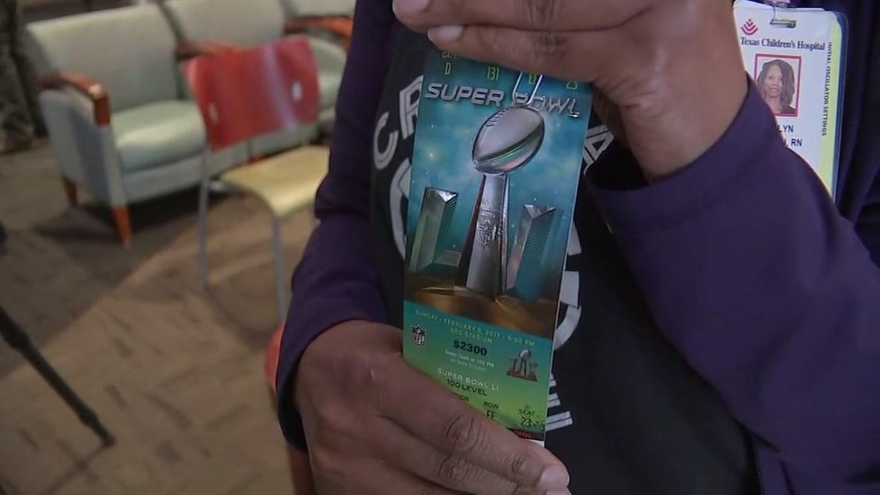 Super Bowl tickets for nurses