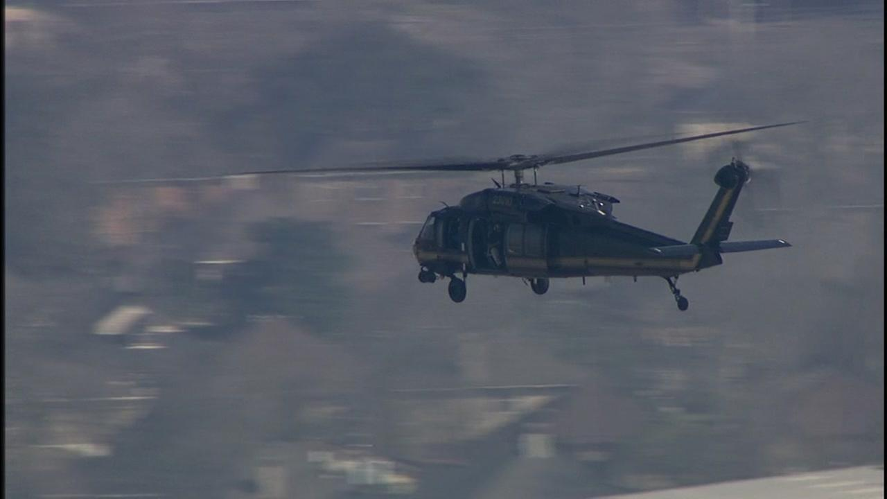 Blackhawks fly security over NRG stadium