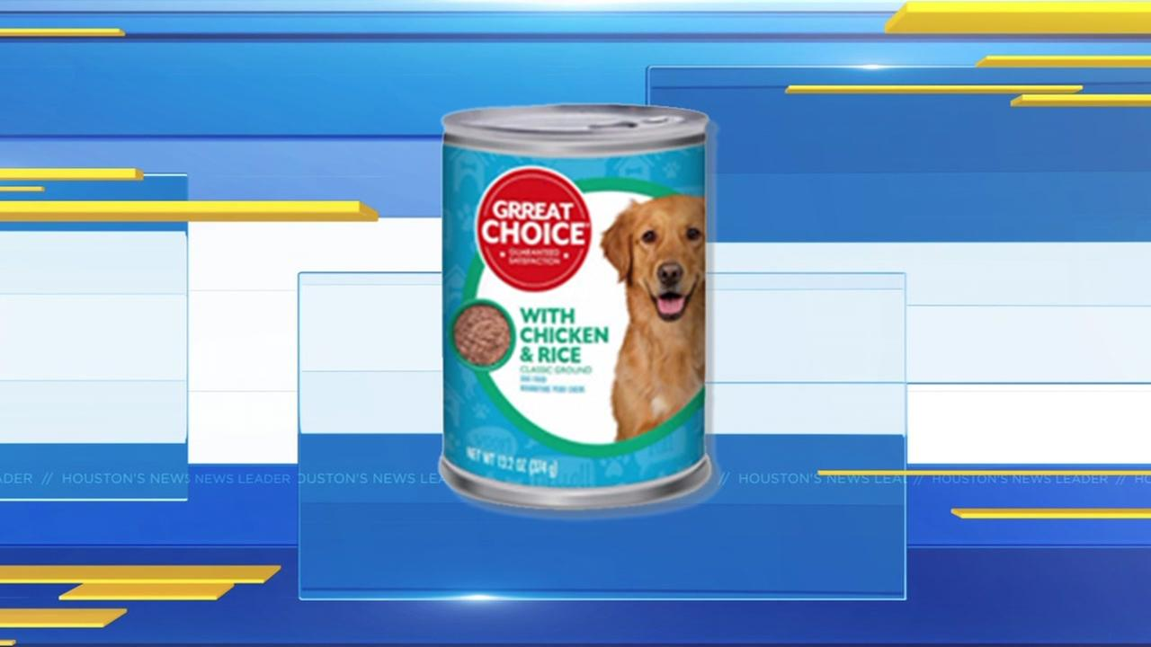 Great Choice dog food recall