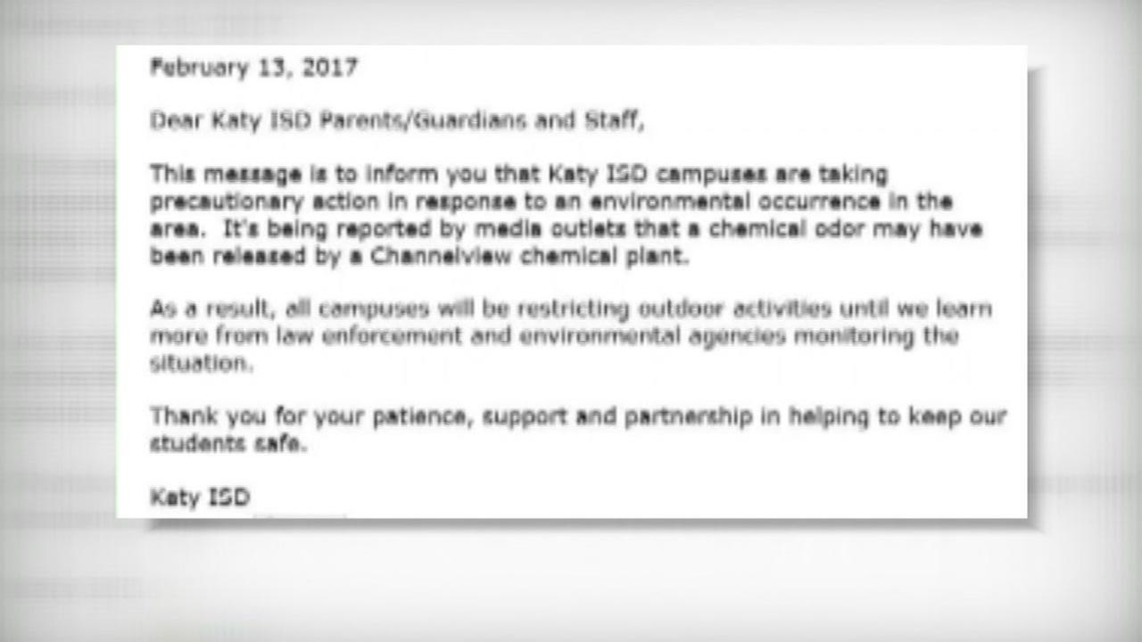 School districts take precautions after strange odor across area