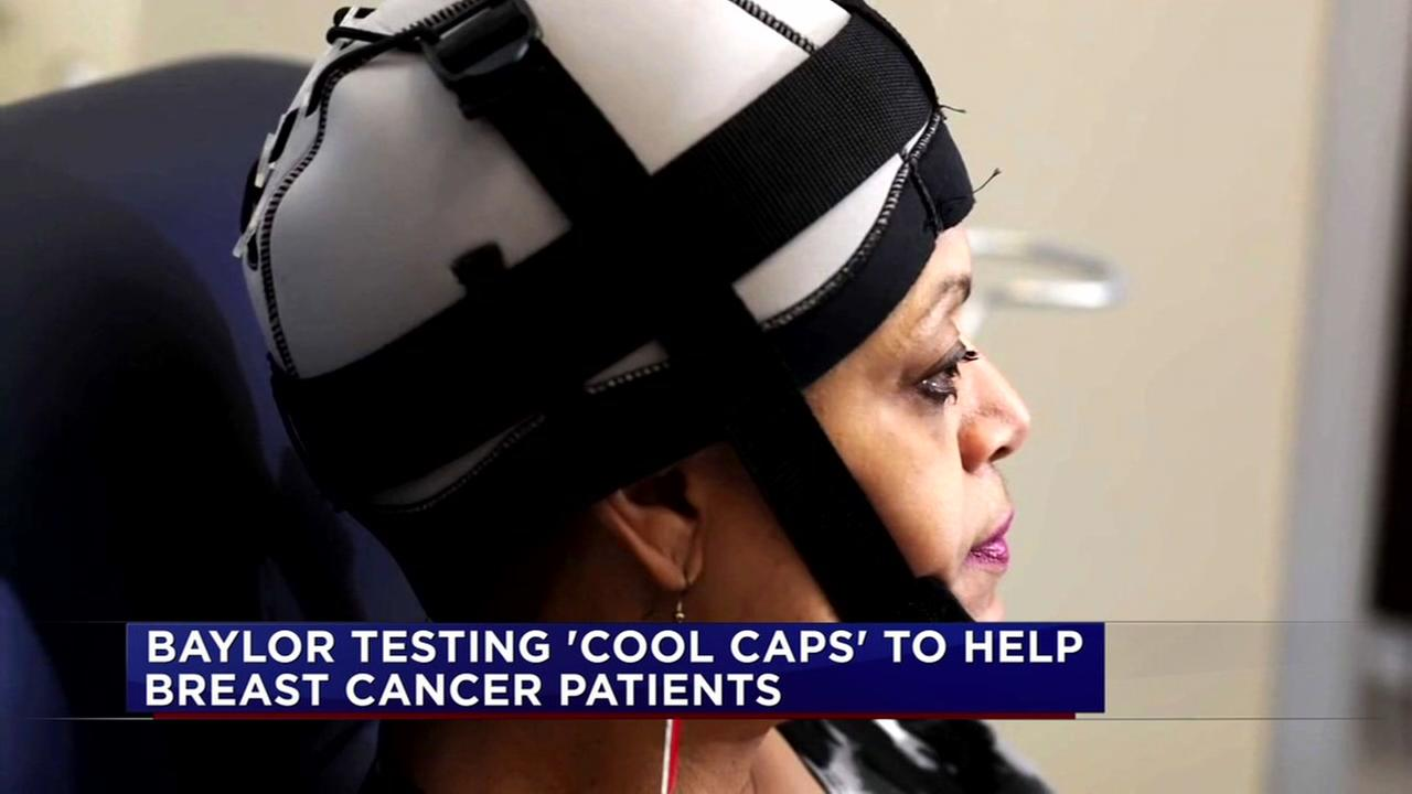 Baylor testing cool caps to help cancer patients keep their hair