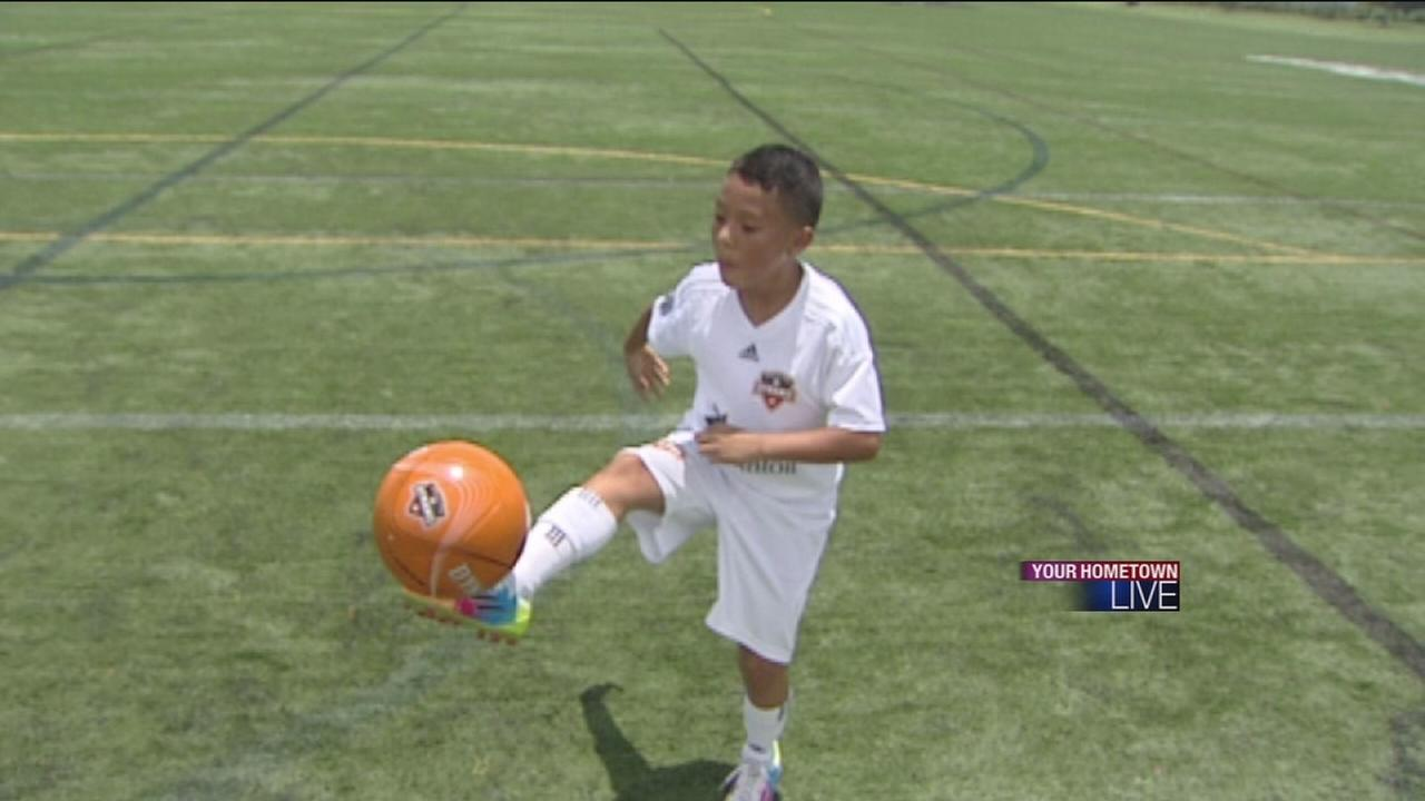 Young soccer prodigy sets sights on World Cup