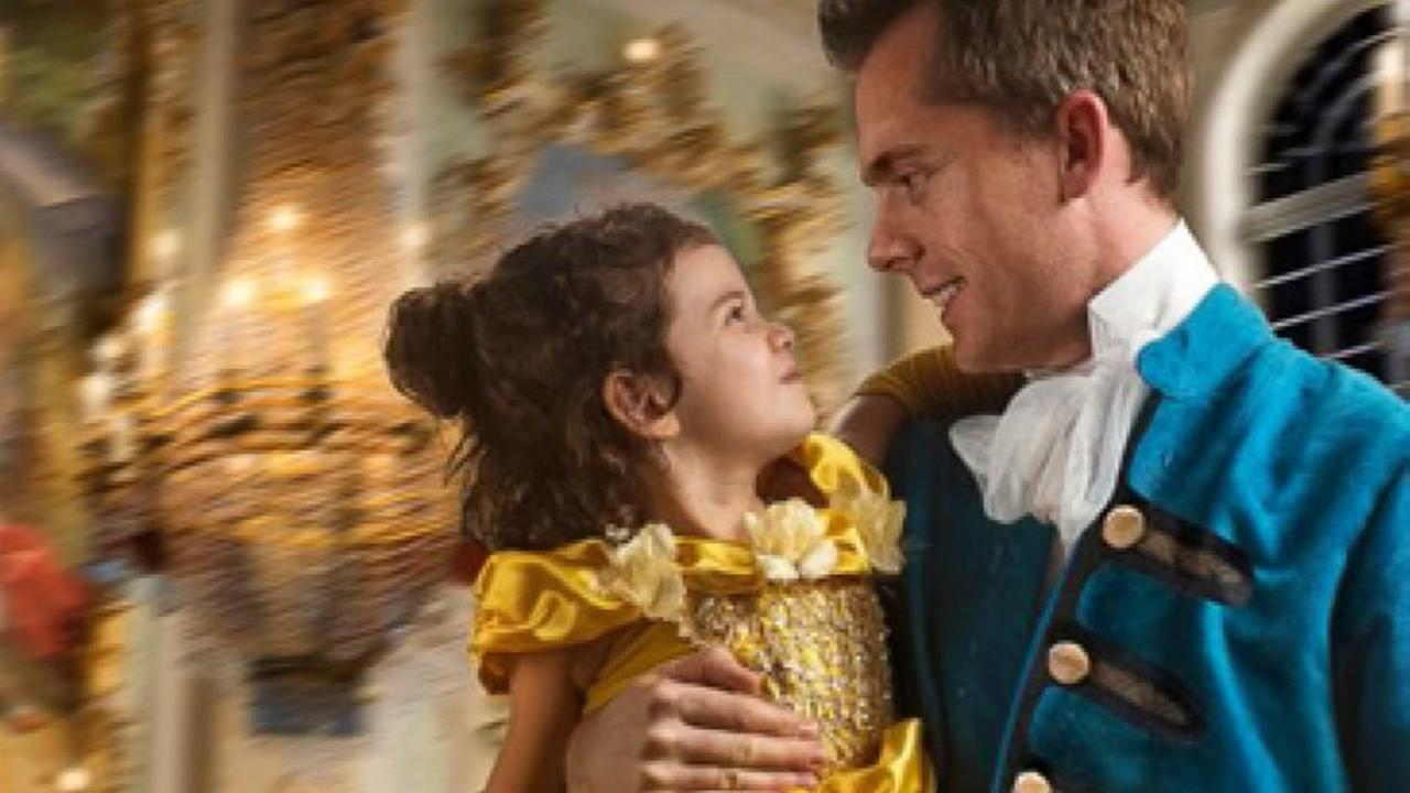 Dad gives daughter epid Beauty and the Beast photo shoot