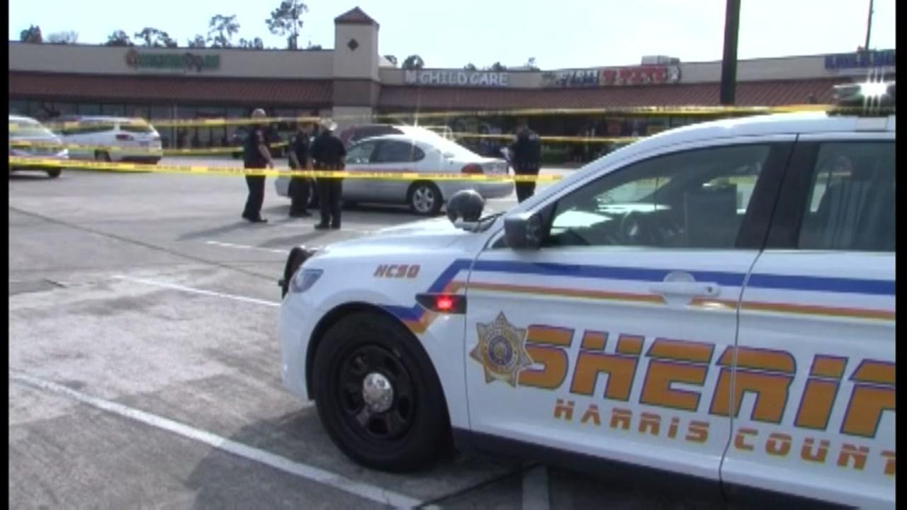 Man shot several times, dies in shopping center parking lot