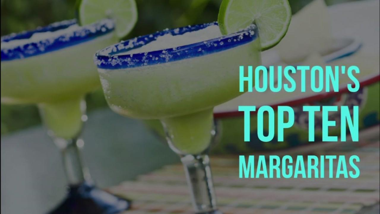 Houstons top ten margaritas