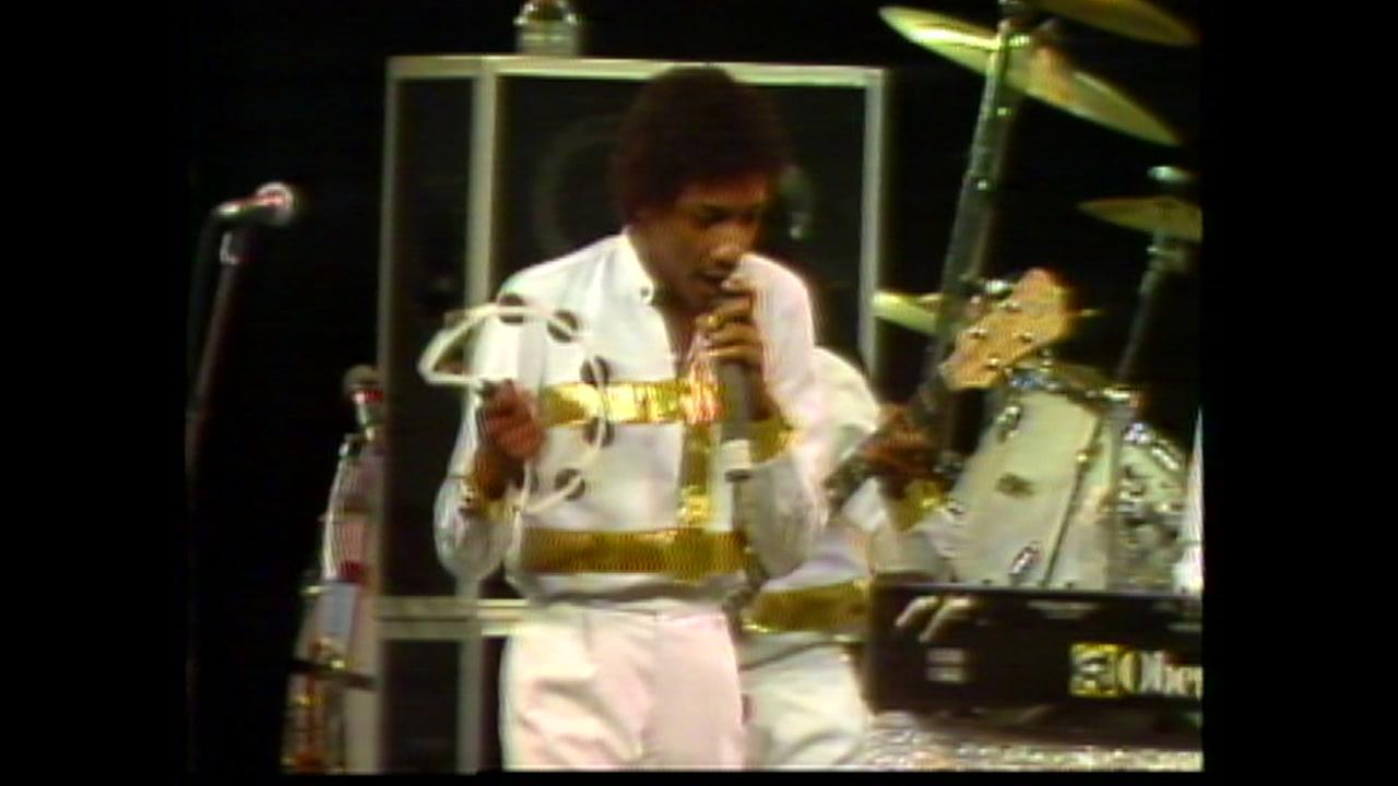 Kool and the Gang entertained the crowd at the Rodeo, Feb, 23rd, 1983