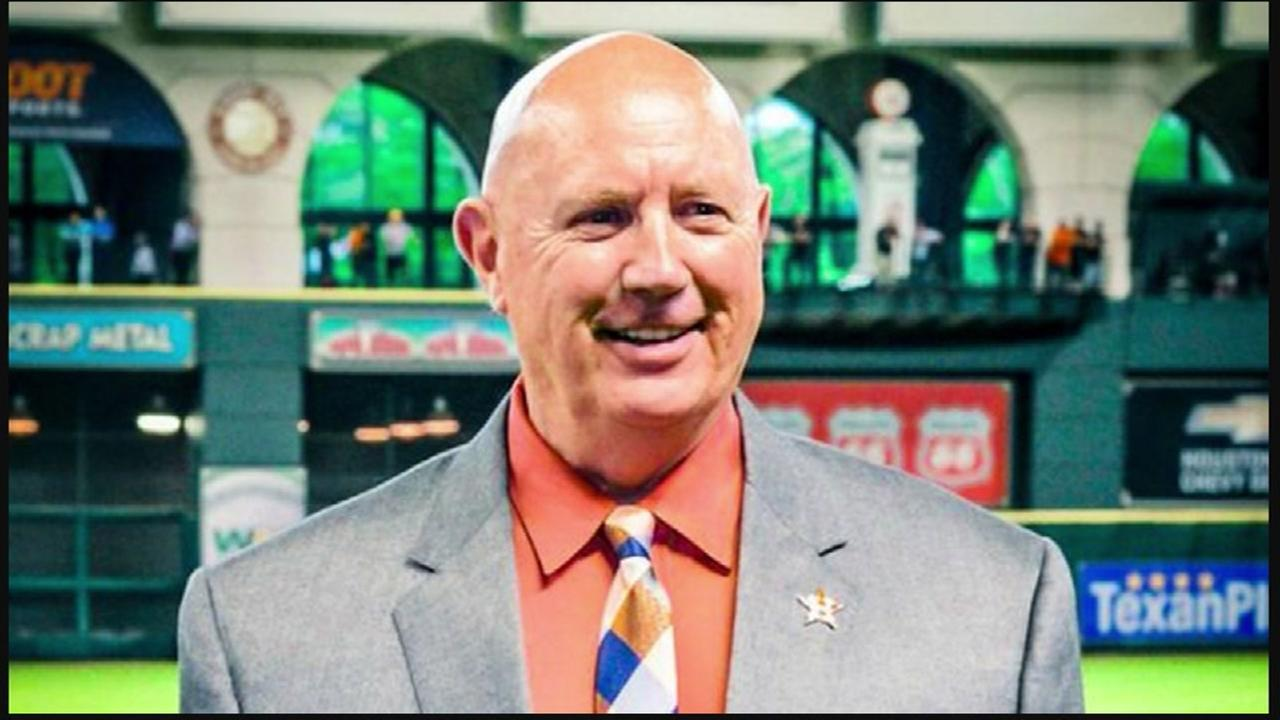 Astros executive dies