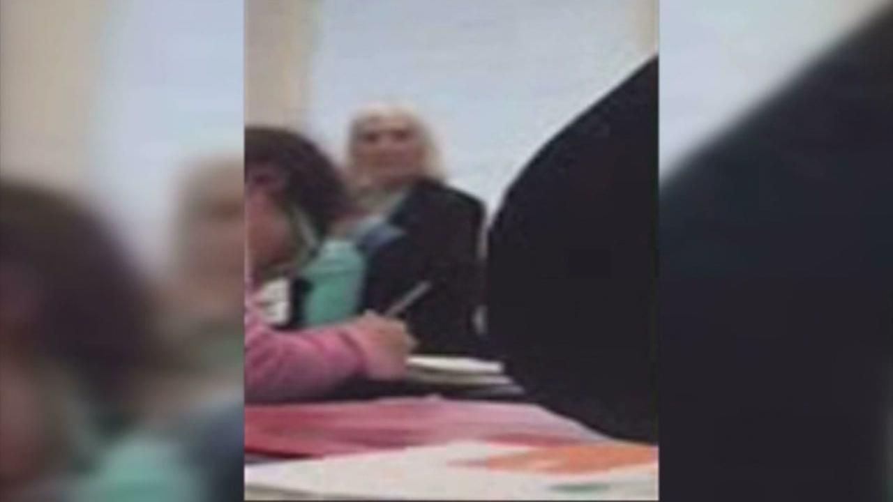 Substitute teacher accused attack