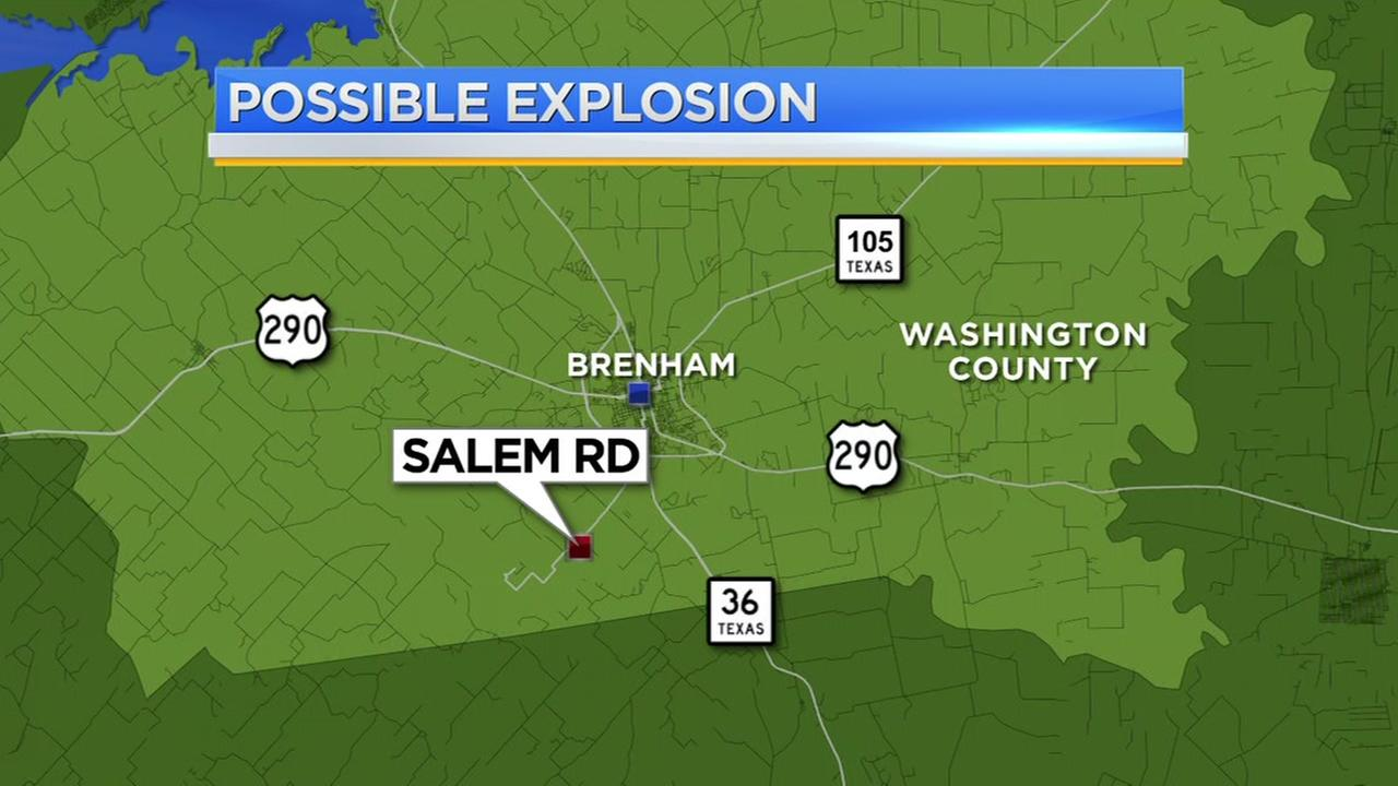 Loud explosion rocks Brenham overnight