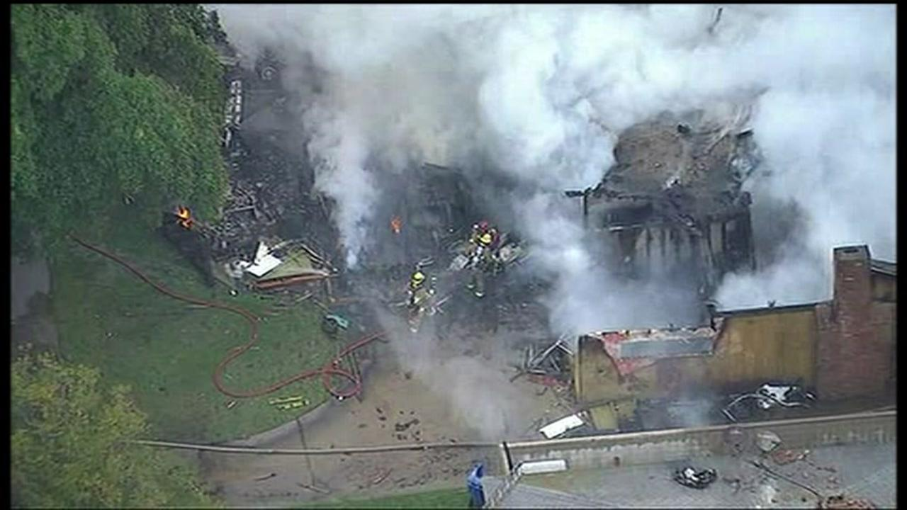 A small plane crashed into a Riverside, CA home