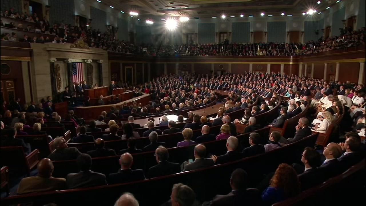 Trump makes first address to Congress