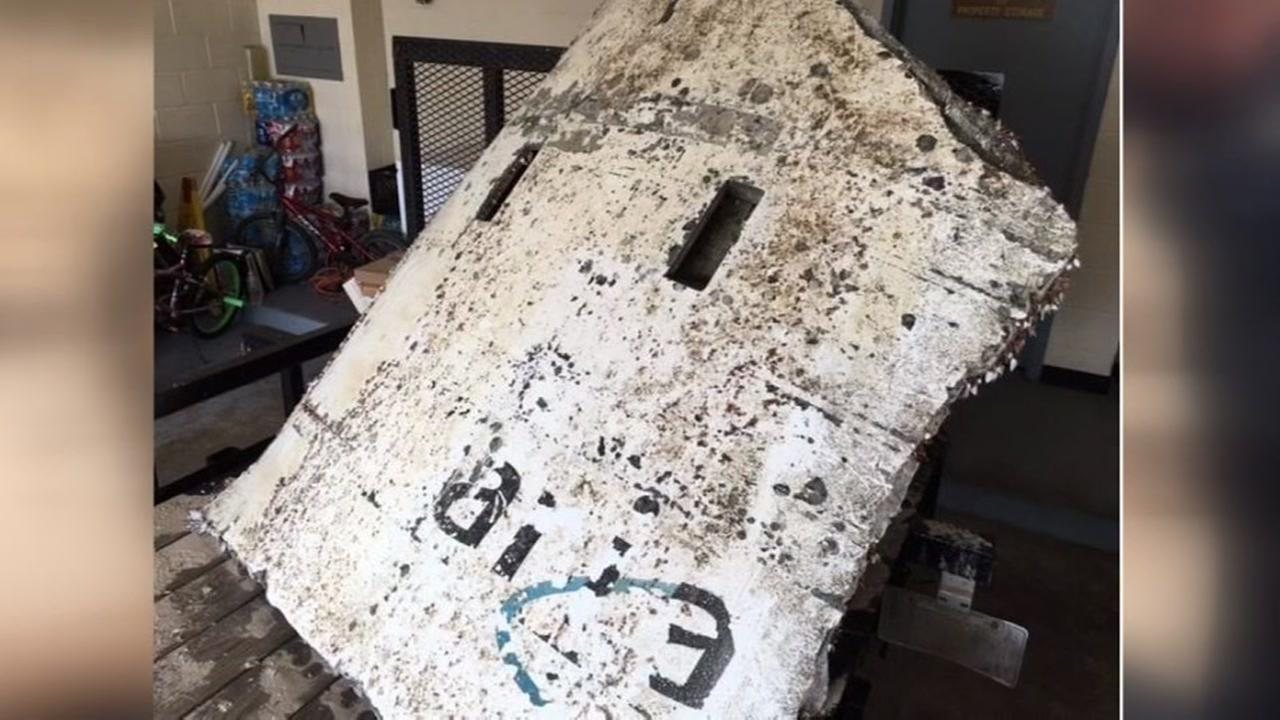 Space capsule found washed up in Freeport