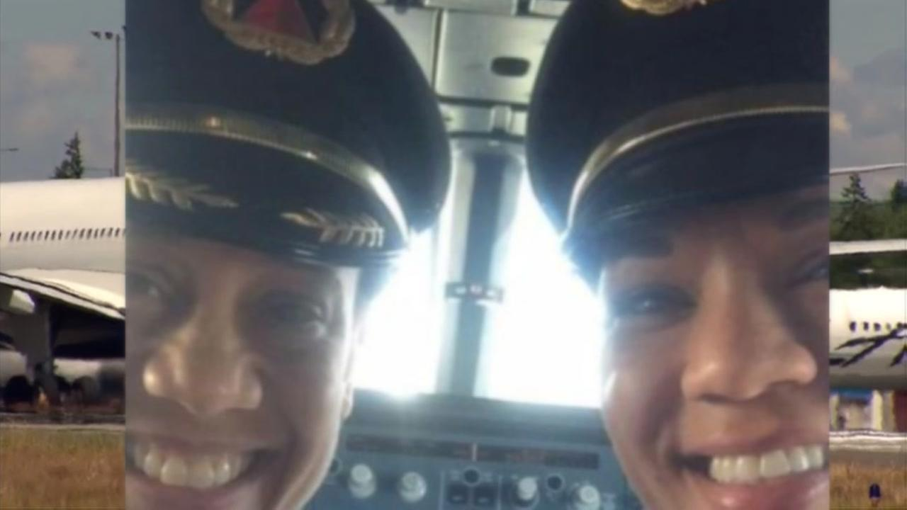 Two African-American women pilots make history