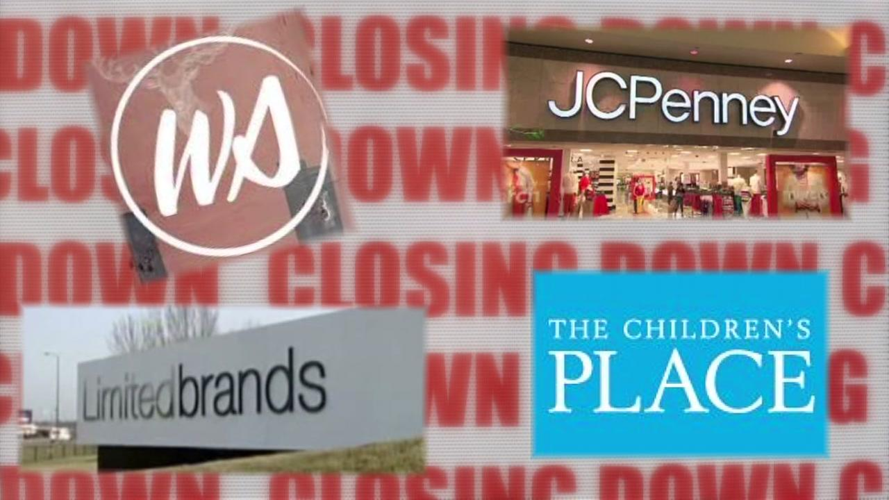 Some favorite retailers closing all or some of their stores