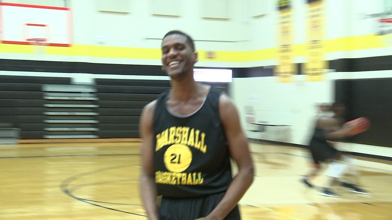 Marshall High School preparing for state basketball game