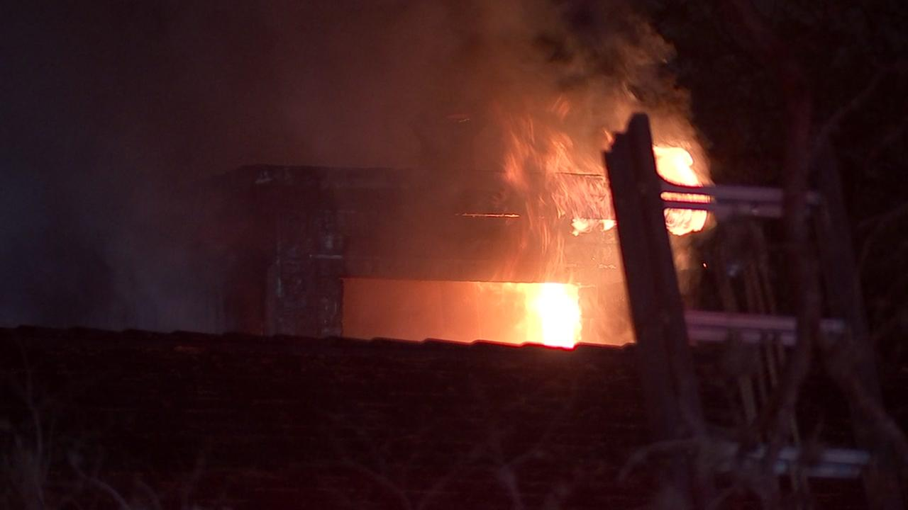 Fire engulfs home for second time in a week