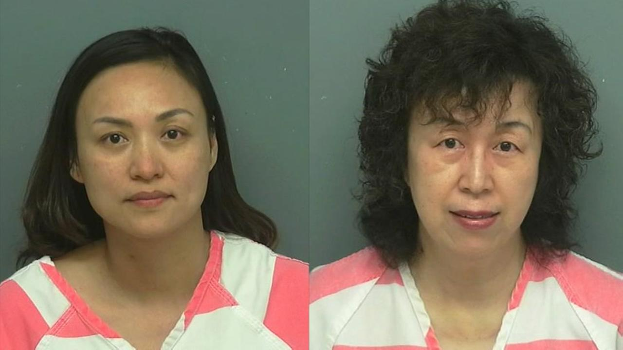 Two women arrested for prostitution at Willis massage parlor