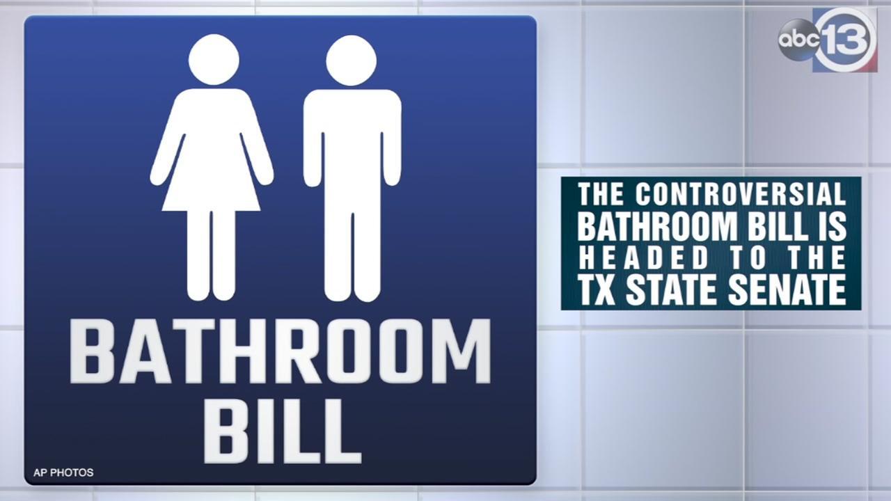 Bathroom bill is headed to the Senate