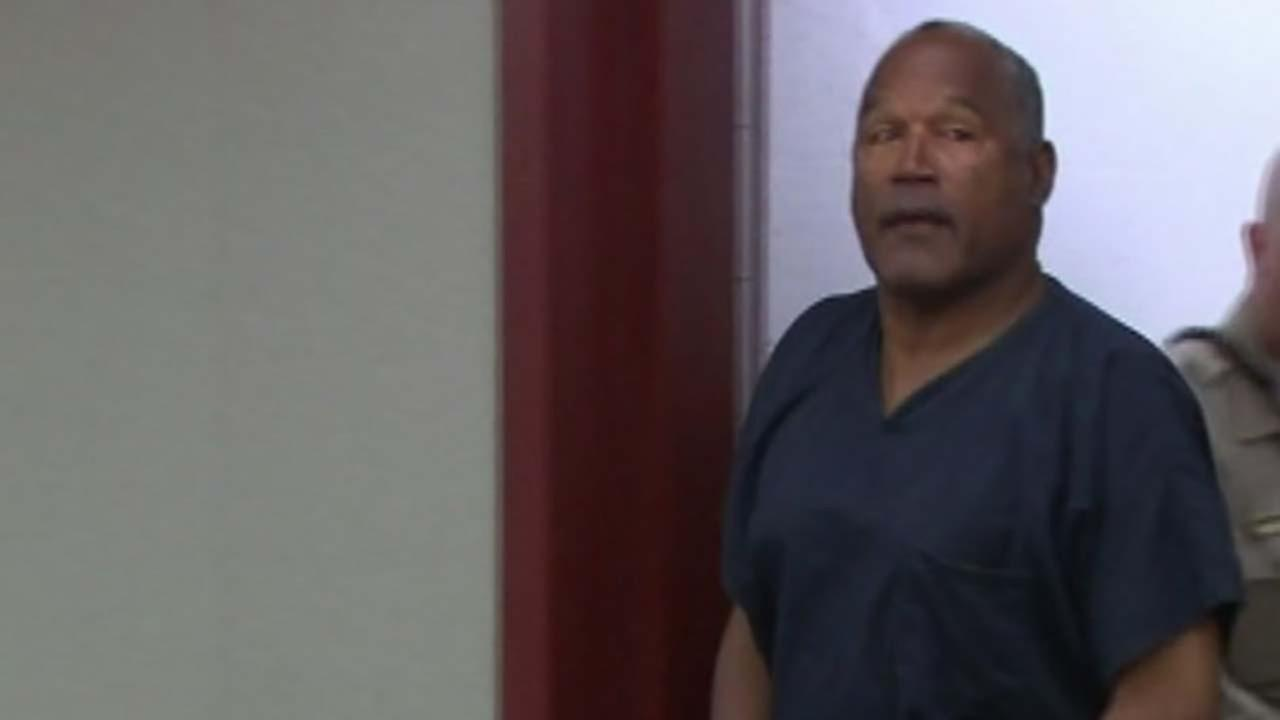 OJ Simpson could be released on parole this fall