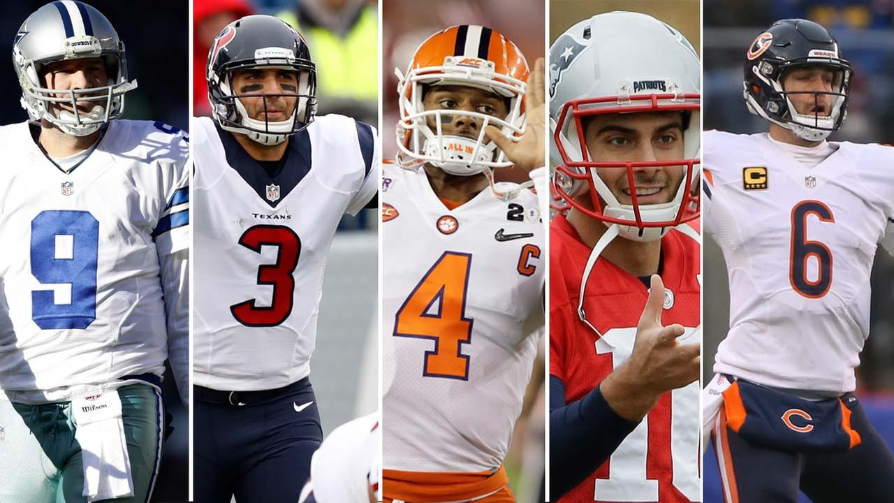 Who will be the next quarterback for the Texans