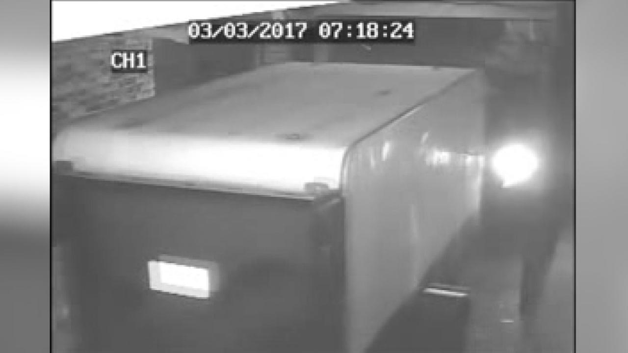 Trailer of books stolen